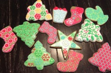 christmas cookie overload