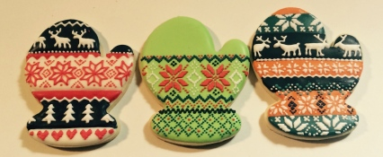 Nordic Christmas mittens