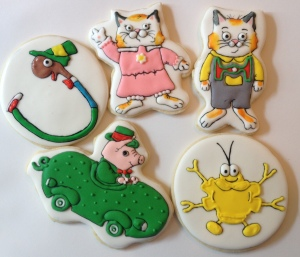 Busytown characters cookies