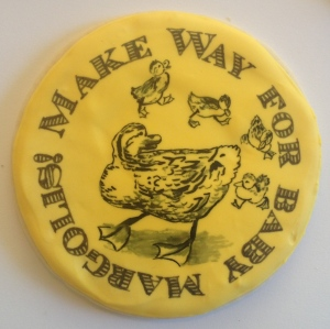 Make Way For Ducklings cookie