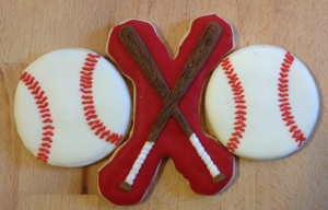 baseball bat cookies