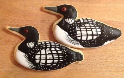 Loon cookies