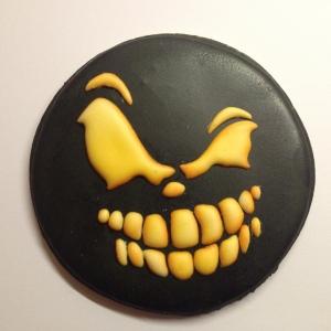 Spooky halloween cookie