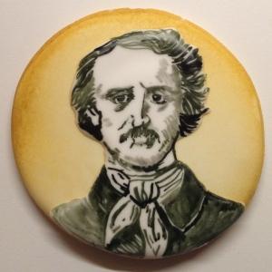Edgar Allan Poe cookie