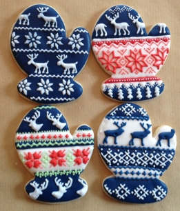 How to make Nordic sweater cookies