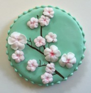 How to make cherry blossom cookies