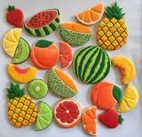 How to make fruit cookies