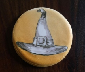 Witch hat cookie